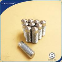 China Zinc Plated Arc Welding Stud / Drawn Arc Stud Welding Carbon Steel wholesale