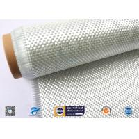 China High Temperature Resistant Fiberglass Fabric , Woven Roving Cloth With High Strength wholesale