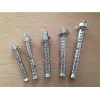 China Carbon Steel Self Locking Bolts / Self Locking Fasteners With Nut Tightening Torque wholesale