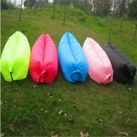 China Inflatable Outdoor Leisure Equipment 260cm X 70cm Nylon Ripstop Sleeping Bag wholesale