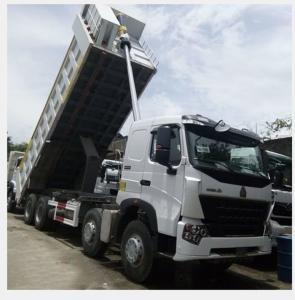 China 8×4 Sinotruk Howo A7 371hp 12 Wheeler Dump Truck Tipper Truck Price for Sale wholesale