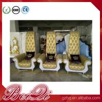 China BeiQi manicure and pedicure equipment high back cheap king throne spa pedicure chair for sale wholesale