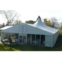 China Economical Large Wedding Tents With Decoration High Pressed Aluminum Alloy Frame wholesale
