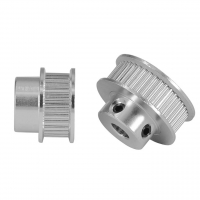 China Silver Teeth Bore 5mm 3D Printer Timing Pulley Aluminum alloy wholesale