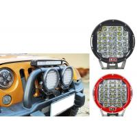 China 96W Red Black Housing LED Driving Lights For Offroad And Truck 4x4 Waterproof Round led Work Light wholesale