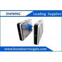 China Flap Automatic Arm Barrier, Access Control Turnstiles With LED Digital Display wholesale