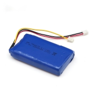 China 3000mAh 7.4V Lithium Ion Polymer Battery Pack IEC62133 wholesale