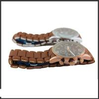 China Alloy And Brown Silicon Band Multifunction Wrist Watch With Most Features wholesale