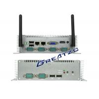 Buy cheap I5 3337u CPU Mini PC Computer , 6 COM RS232 RS485 RS422 Small Industrial PC from wholesalers