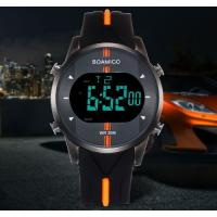 Buy cheap Wholesale Fashion Men Sport Watches Rubber Strap Waterproof 30m Chronograph Alarm Calendar Watch  F543 from wholesalers