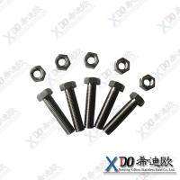 China Hastelloy C276 China hardware stainless steel hex bolt with nut wholesale