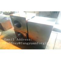 Quality Carbon Steel Forged Block Heat Treatment Milled JIS S45CS48C DIN 1.0503 C45 IC45 for sale