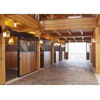 Buy cheap Classic Galvanized Horse Stable Partitions / Horse Stall Dividers from wholesalers