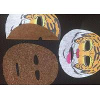 China Hygienic 45GSM 100% Rayon Compressed paper mask Facial Mask Sheet in White wholesale