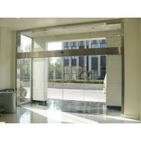 Quality 3 mm Commercial Automatic Sliding Doors / Hotel Sliding Front Doors for sale