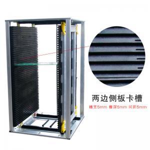 China 8KG SMT Spare Parts PCB Magazine Loader and Unloader PCB Holder Rack 460mm x 400mm x 563mm on sale