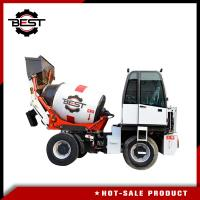 China 1.2 Cubic Meters Self Loading Mobile Concrete Mixer Truck High Performance on sale