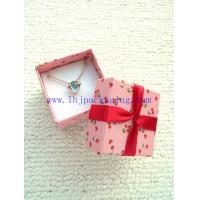 Buy cheap square necklace box from wholesalers