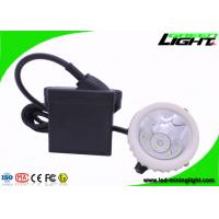 China GL5-A Rechargeable Mining Cap Lamp , Industrial Miner Light with 22 Hours Lighting Time wholesale