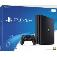Quality SONY PLAYSTATION 4 PS4 PRO 1TB 1 TERABYTE CONSOLE BLACK 4K WIFI BLURAY 1000 GB for sale