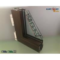 China Construction AA6063 T5 Aluminium Window Profiles / Wood Aluminum Structural Shapes wholesale