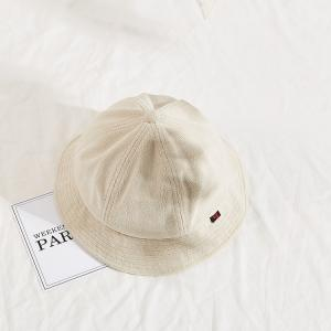 China Winter 100% cotton winter hats New Arrival Custom Logo Cotton Fisherman Bucket Hats wholesale