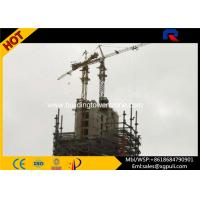 China Professional Hammer Head Tower Crane , Hydraulic Mobile Crane For Inside Building wholesale