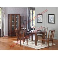 China Can Folding and Opening Dining table in Solid Wooden Dining Room Set wholesale