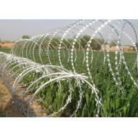 Buy cheap Sharp Razor Wire Barbed Tape BTO - 18 / BTO - 22 for Security Fence from wholesalers