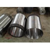 China Custom Forged Cylinder Piston EN DIN , Stainless Steel Cylinder Seat For Railroad Bridge wholesale