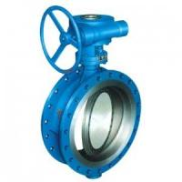 Quality Triple Eccentric Metal Seated API609 Butterfly Valve Metal To Metal Seal Full for sale