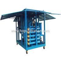 China Weather Proof Enclosure Type Aged Transformer Oil Purifier China Insulation Oil Purifier/ Mobile Transformer Oil FILTER wholesale