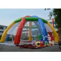 China Giant Customized Rainbow Color Outdoor Inflatable Marquee Party Tent wholesale