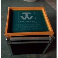 China Customized AluminumTool Cases12U Print Logo Rack Case Anti-shock Foam Inside wholesale