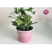 China Customized Wooden Design Single Wall Plant Paper Bucket Double PE Coated wholesale
