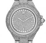 Michael Kors MK5862 MK5869 MK5720 Camille Crysta Pave Quartz Stainless Rose Gold MK WristWatch