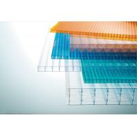 China Light Weight Multiwall Polycarbonate Sheet Uv Roof Sheeting 10 Years Guarantee wholesale