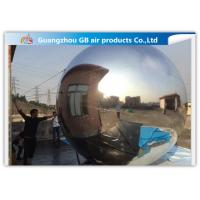 Buy cheap Decoration Silver Inflatable Mirror Balloon , Inflatable Silver Mirror Ball from wholesalers