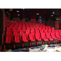 China 120 Seats Sound Vibration Cinema With Vibration Chairs Special Effect wholesale