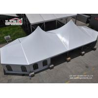 China Outdoor High Peak Tents / Wedding Party Tent With Church Windows wholesale