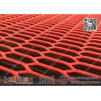 China Red Color Expanded Metal Sheet   China ISO certificated Factory wholesale