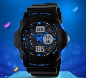 China Skmei Mens Boys Children Students Girls  Waterproof Digital Shock Sports Wrist Watch Skmei G LED Quartz 5 ATM 0955 wholesale