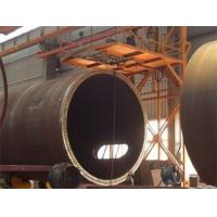 China 40 Tons Self Adjustment Automatic Pipe Turning Rollers Siemens System wholesale