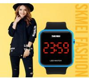 China Skmei Fashion Led Waterproof 30m PU Band Sport Watches Neutral Watch 1176A wholesale