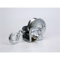 Buy cheap Hand winch portable heavy steel cable manual winch 600lbs for boat sale from wholesalers