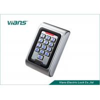 China Electronic Door Access Keypad Door Entry Systems With Door Bells on sale
