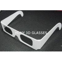 China  Disposable Circular Polarized Plastic 3D Glasses For Reald / Masterimage System  for sale