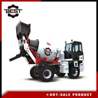 China Small Machinery Type 2 Cubic Mobile Concrete Mixer Truck Concrete Mixer Lorry wholesale