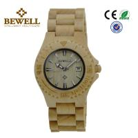 China Maple Vogue wood band ladies wooden watches Spring buckle , Decoration wholesale