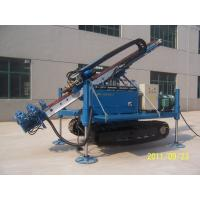 China Air Anchor Drilling Rig Full Hydraulic Water Drilling Machine For Soil Sand Stratums wholesale